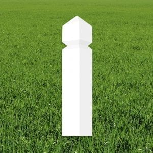 stolpe-firkantet-profiltert-topp