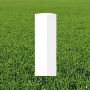 stolpe-firkantet-rett-topp